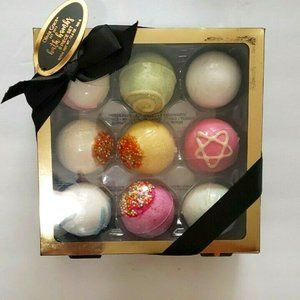 NIB Olivia Grace 9 Pc. BATH BOMB Set Sweet Scents